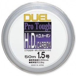 DUELL HD CARBON FLUOROCARBON 100%/50m