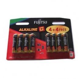 ΜΠΑΤΑΡΙΕΣ ALKALINE AA FUJITSU PK4+4