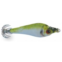 ΚΑΛΑΜΑΡΙΕΡΑ DTD SILICONE REAL FISH (SUGARELLO GREEN )