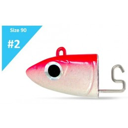 Fiiish Black Minnow Off Shore Jig Head 10g - Fluo Pink