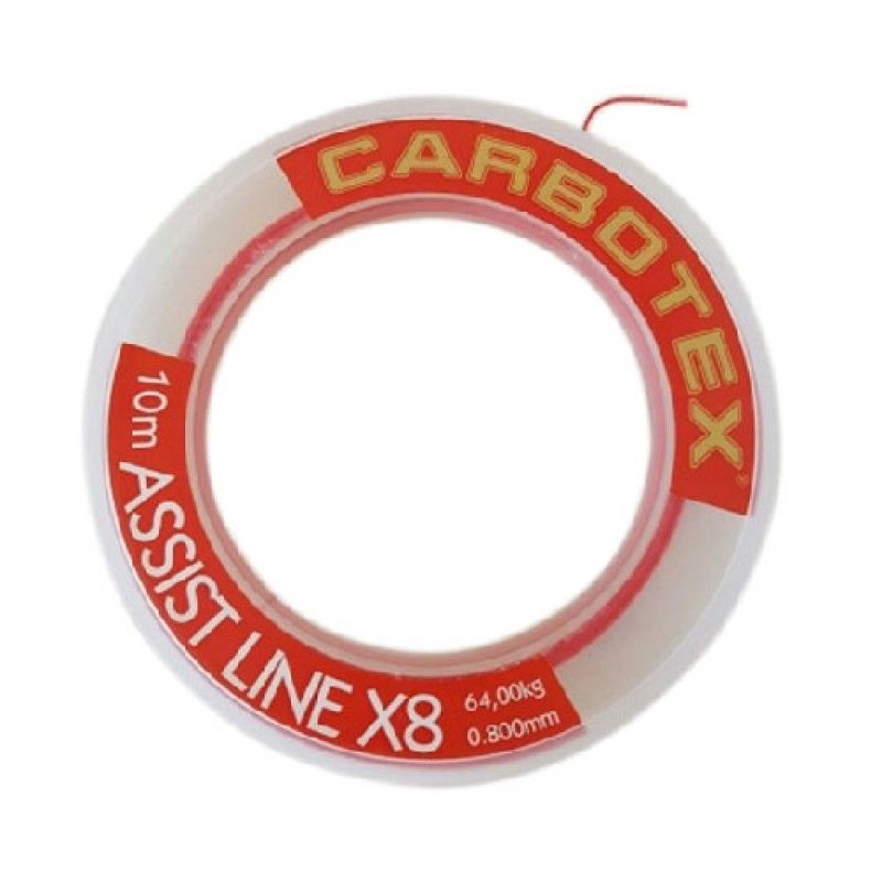 CARBOTEX ASSIST LINE X8 (0.60-0.80-0.100-0.130)
